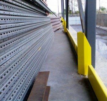 Защитное ограждение стен коридоров складских и производственных помещений