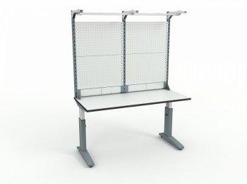Стол монтажный ДиКом СР-150-01 + Экран ВС-150-Э4