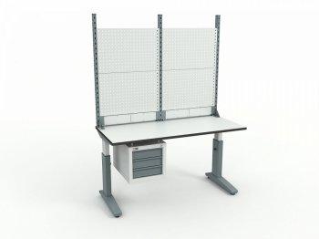 Стол монтажный ДиКом СР-150-02 + Экран ВС-150-Э2
