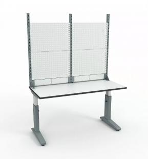 Стол монтажный ДиКом СР-150-01 ESD + Экран ВС-150-Э2 ESD