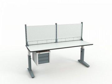 Стол монтажный ДиКом СР-200-02 + Экран ВС-200-Э1