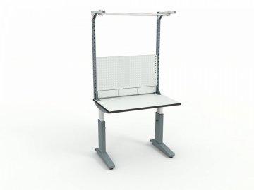 Стол монтажный ДиКом СР-100-01 ESD + Экран ВС-100-03 ESD