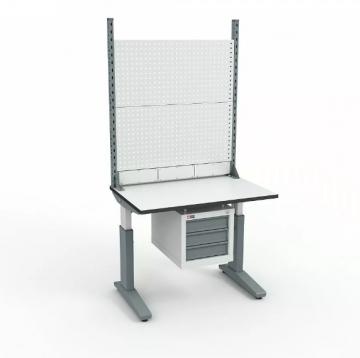 Стол монтажный ДиКом СР-100-02 + Экран ВС-100-Э1 ESD