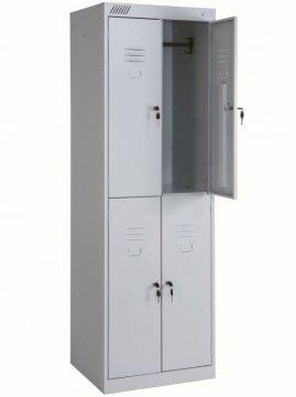 Шкаф гардеробный Эконом 4 секции