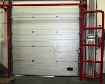 Система отбойников для защиты в складских зонах различных конструкций (ворота, пожарные щиты,теплозавесы, отопит.приборы и т.д.)