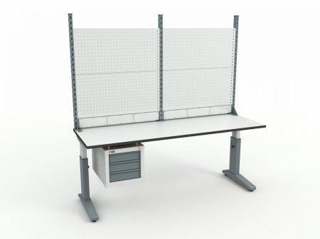 Стол монтажный ДиКом СР-200-02 + Экран ВС-200-Э2