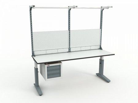 Стол монтажный ДиКом СР-200-02 + Экран ВС-200-Э3