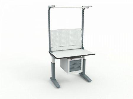 Стол монтажный ДиКом СР-100-02 + Экран ВС-100-Э3