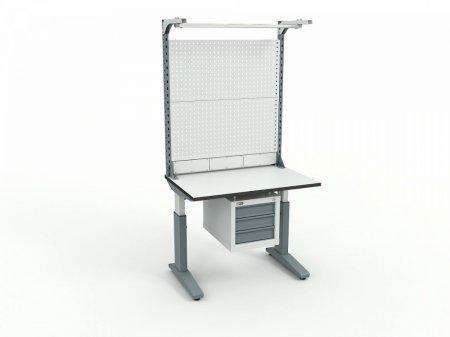 Стол монтажный ДиКом СР-100-02 + Экран ВС-100-Э4