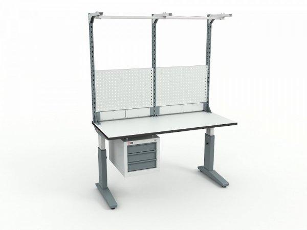 Стол монтажный ДиКом СР-150-02 + Экран ВС-150-Э3