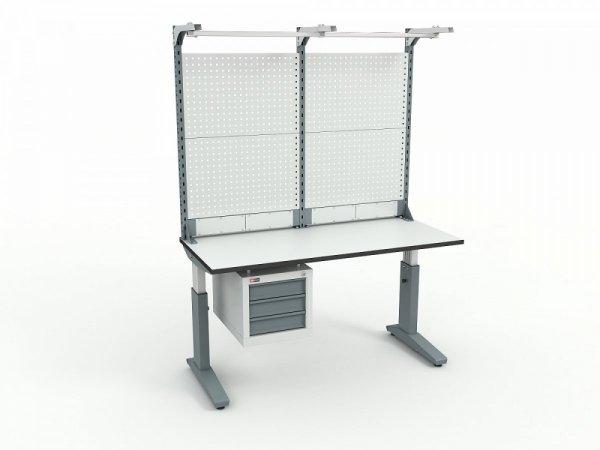 Стол монтажный ДиКом СР-150-02 + Экран ВС-150-Э4