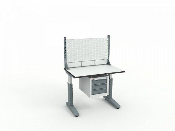 Стол монтажный ДиКом СР-100-02 + Экран ВС-100-Э1