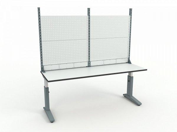 Стол монтажный ДиКом СР-200-01 ESD + Экран ВС-200-Э2 ESD