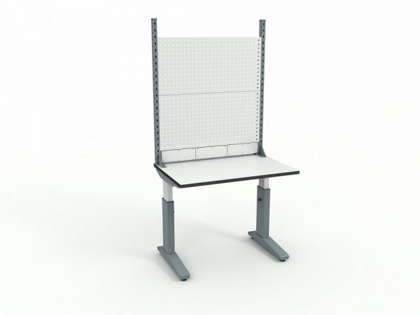 Стол монтажный ДиКом СР-100-01 ESD + Экран ВС-100-02 ESD