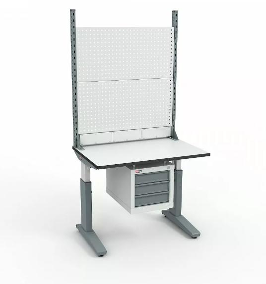 Стол монтажный ДиКом СР-100-02 ESD + Экран ВС-100-Э2 ESD